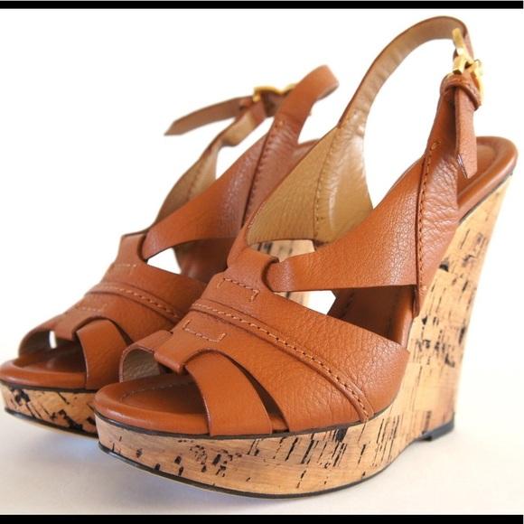 4319c224521b Chloe Shoes - Chloe Cork Wedge Platform Sandal